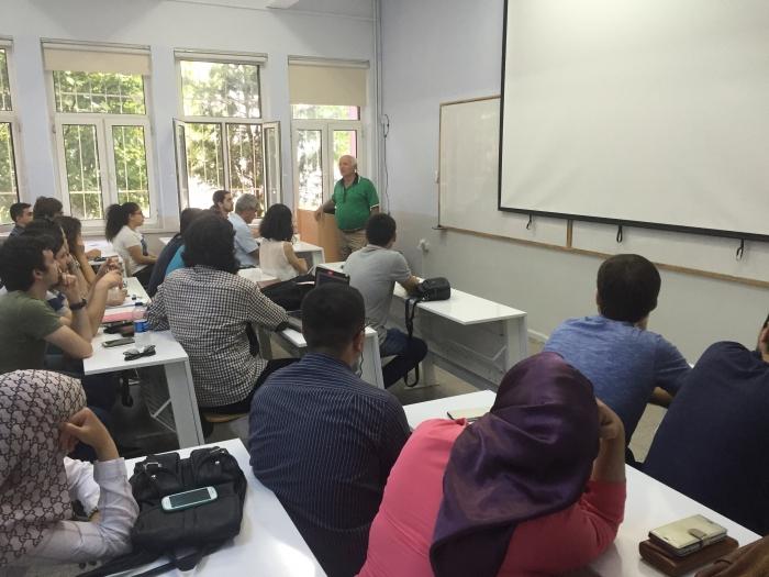 Prof. Dr. Eşref Adalı Hocamızın Bölümümüzü Ziyareti